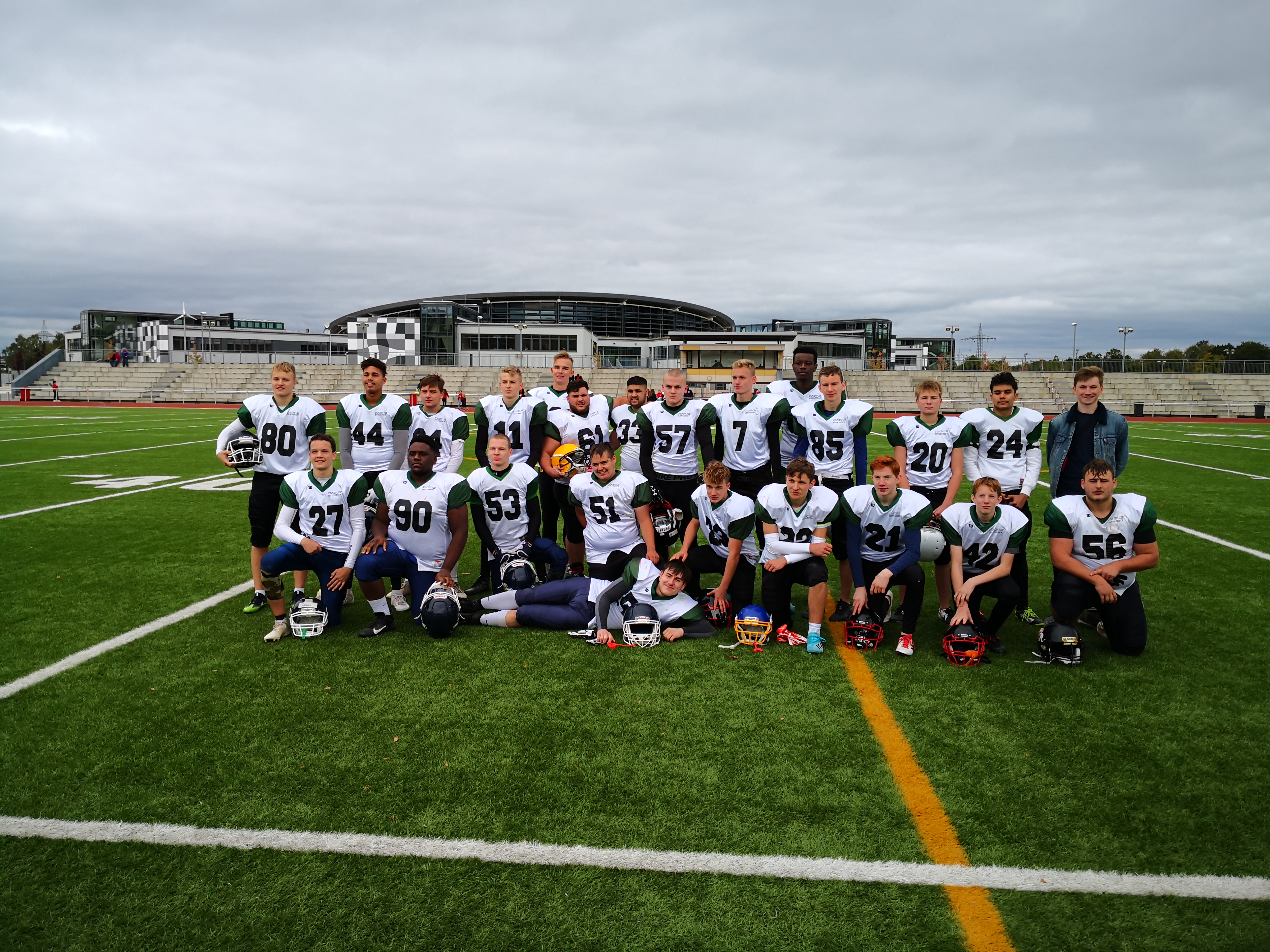American Football gegen USA High School